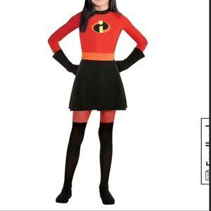 GIRLS Incredibles Dress Costume- Incredibles 2